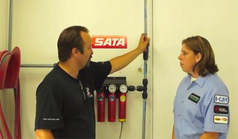 SATA Dan-Am Air with Tony Larimer